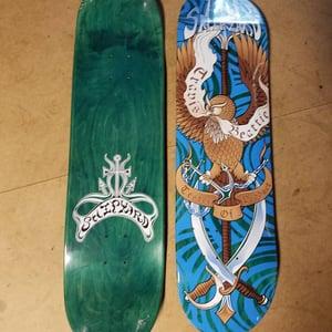 "Image of Shipyard Skates ""TESTER OF PRODUCT"" deck"