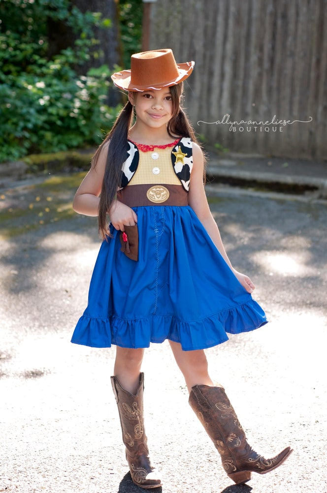 Image of Girl Woody Inspired Set - Optional Hat