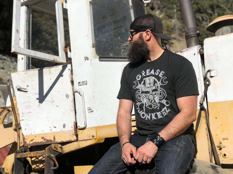 Image of Grease Monkeez Logo T-Shirt