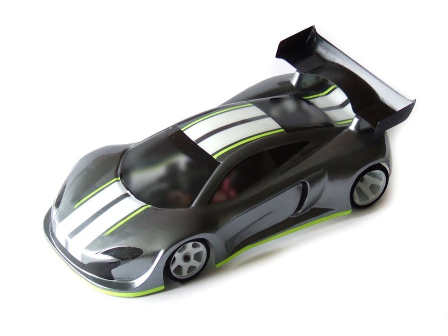 Image of Phat Bodies - GTM GT12 BodyShell for Zen RXGT12 and Schumacher Atom 2