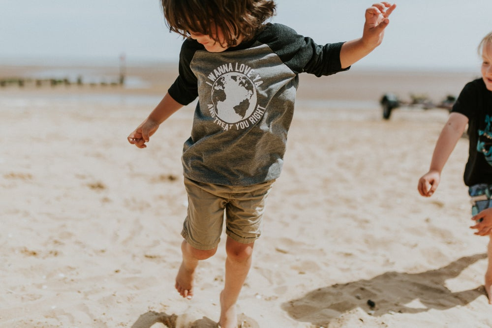 Image of Kids & Adults Mother Earth Baseball Tees