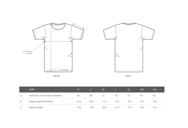 Image of Palmen T-Shirt // Unisex // pastellgelb