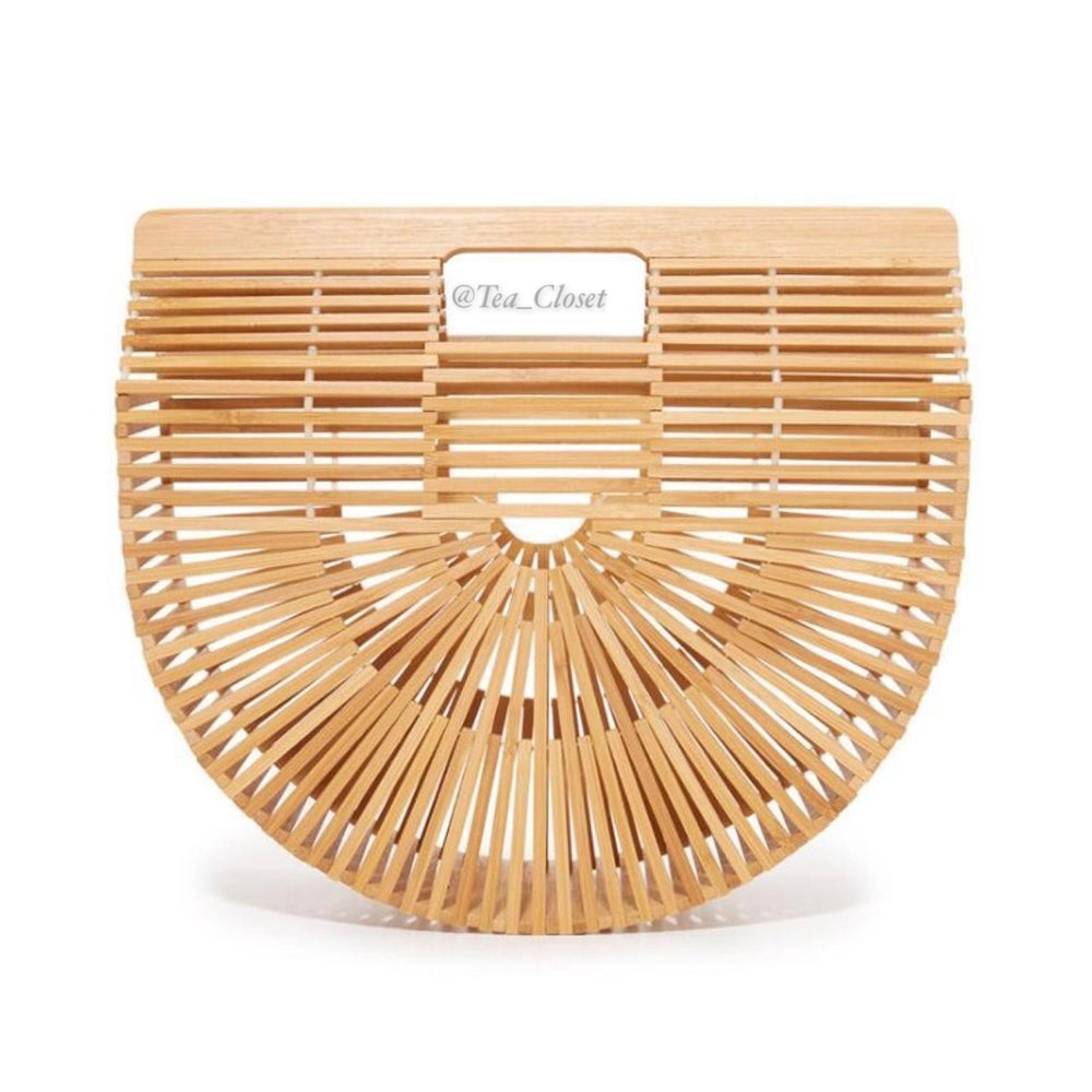 Image of NATURAL BAMBOO BAG