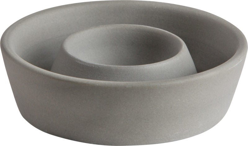 Image of Egg cup, Stoneware, Grey
