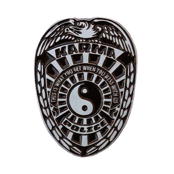 Image of Karma Police Badge