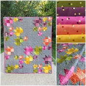 Image of Fall breeze Ombre Confetti fabric bundle with PDF