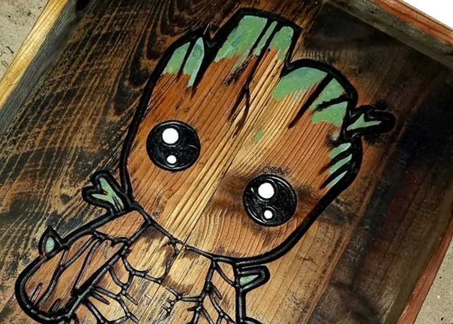 Image of Baby Groot Tray