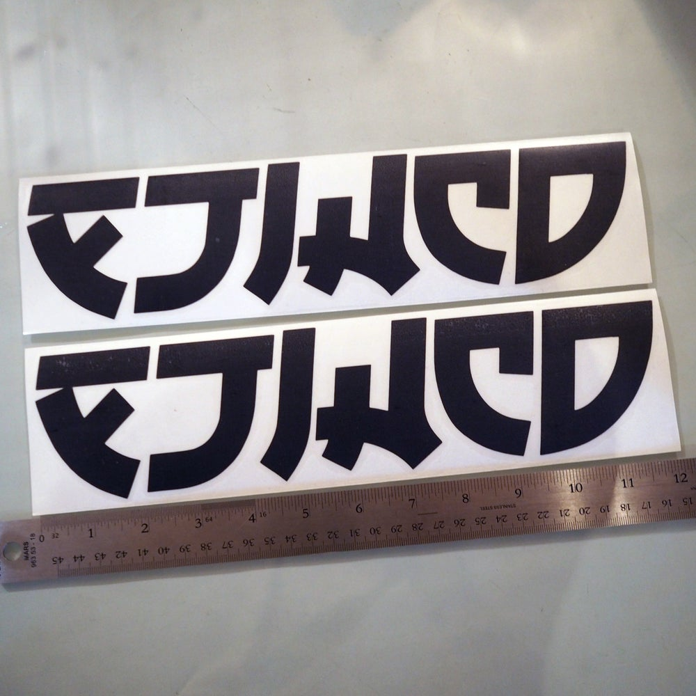 Image of Die Cut Vinyl Stickers