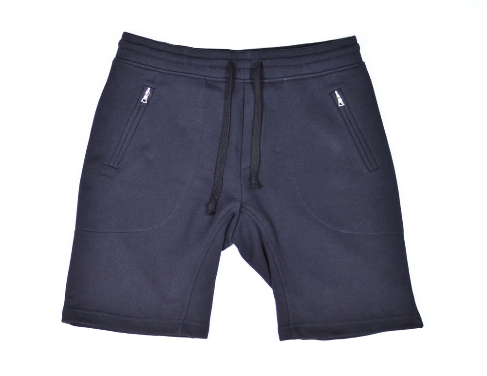 Image of Terry Athletic Short - Space Blue