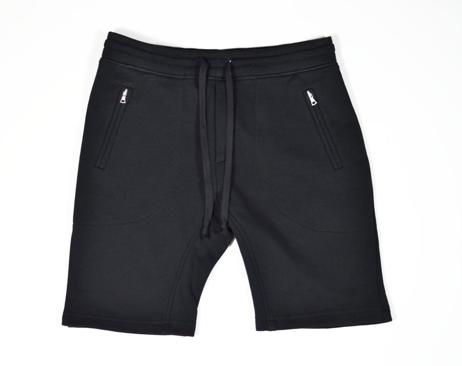Image of Terry Athletic Short - Black