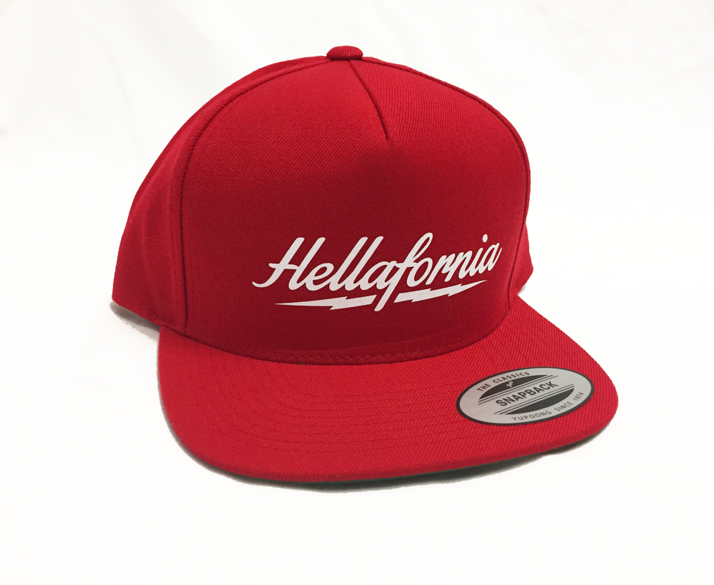 Image of Red Lightning Snapback