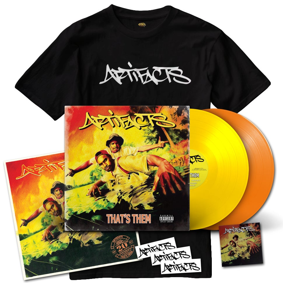 Image of Artifacts - That's Them 20th Anniversary Edition Bundle