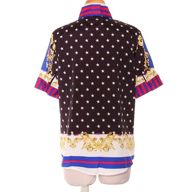 Image of Lindsey Star Printed Blouse