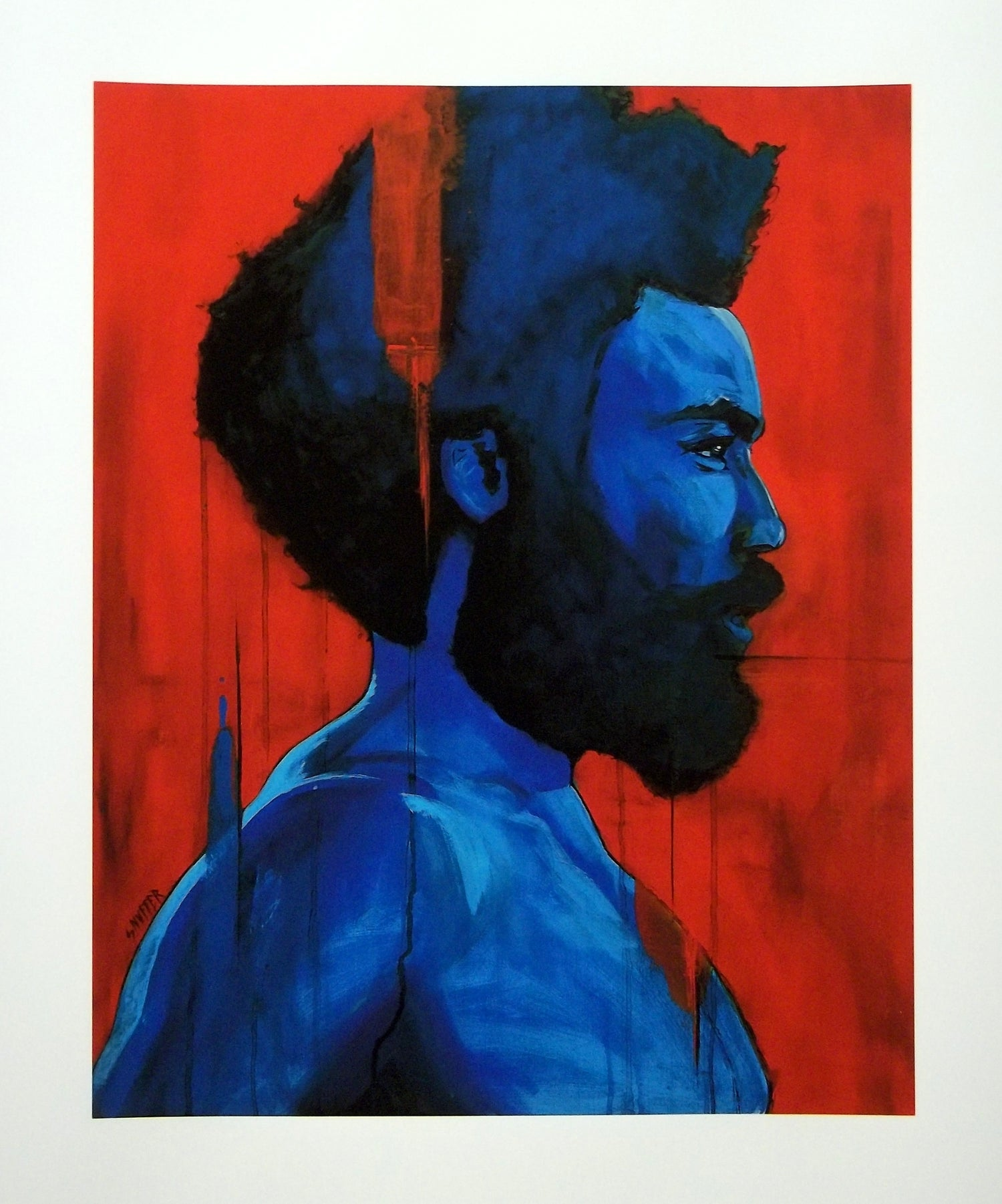 "Image of ""THIS IS AMERICA"" Childish Gambino   LIMITED RUN PRINT  Available in 3 Sizes!"