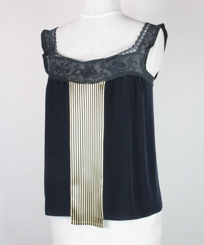 Image of Midnight and Navy Nixie Blouse