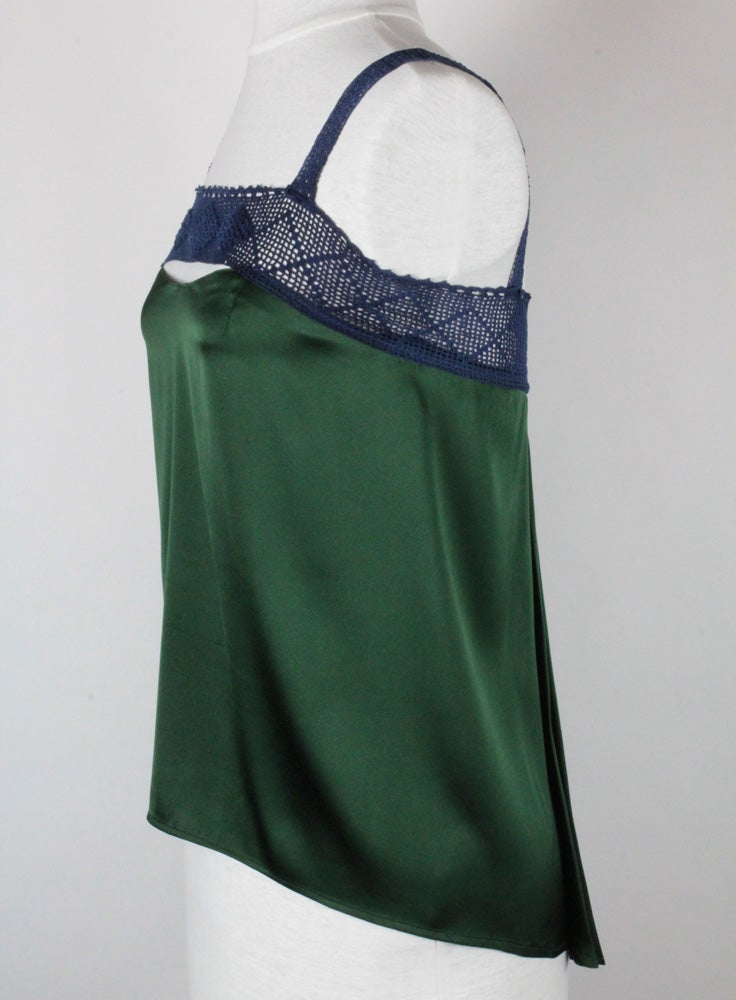 Image of Forest and Navy Sophie Blouse
