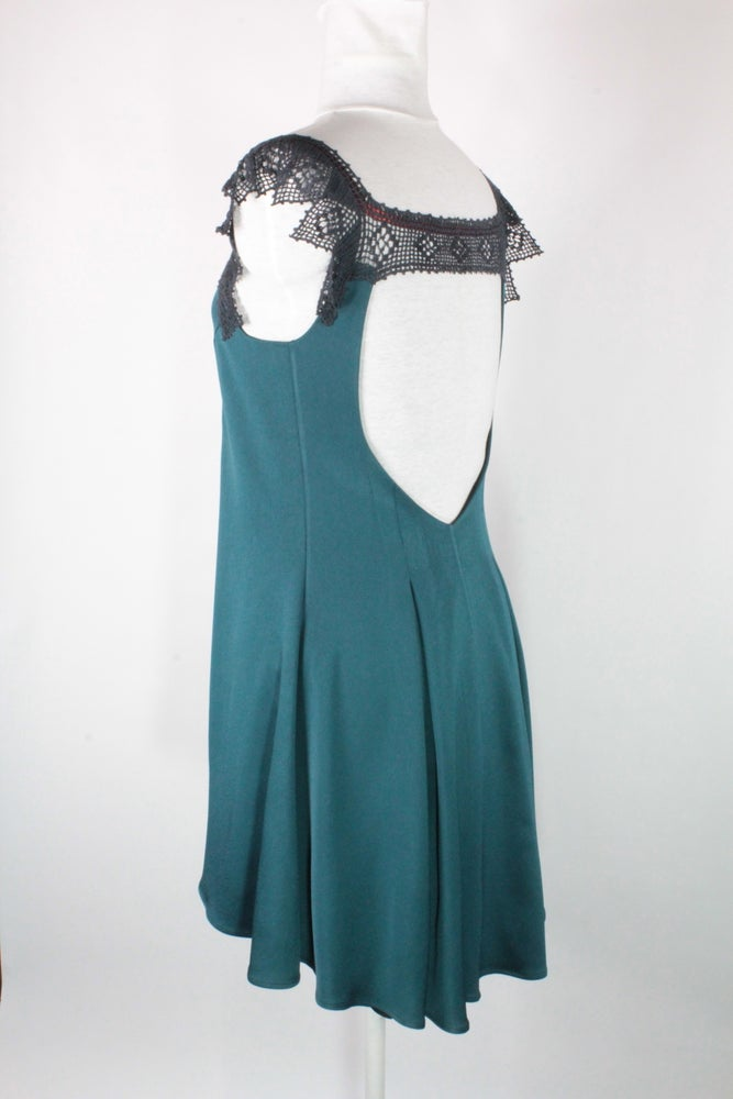 Image of Dark Teal and Smoke Emma Dress