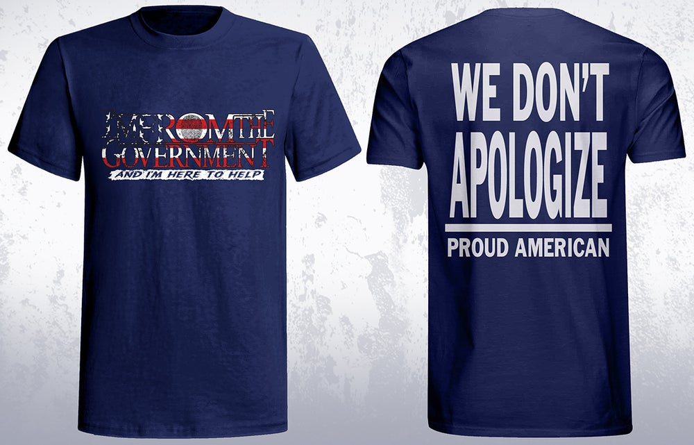 Image of We don't apologize (Proud American)