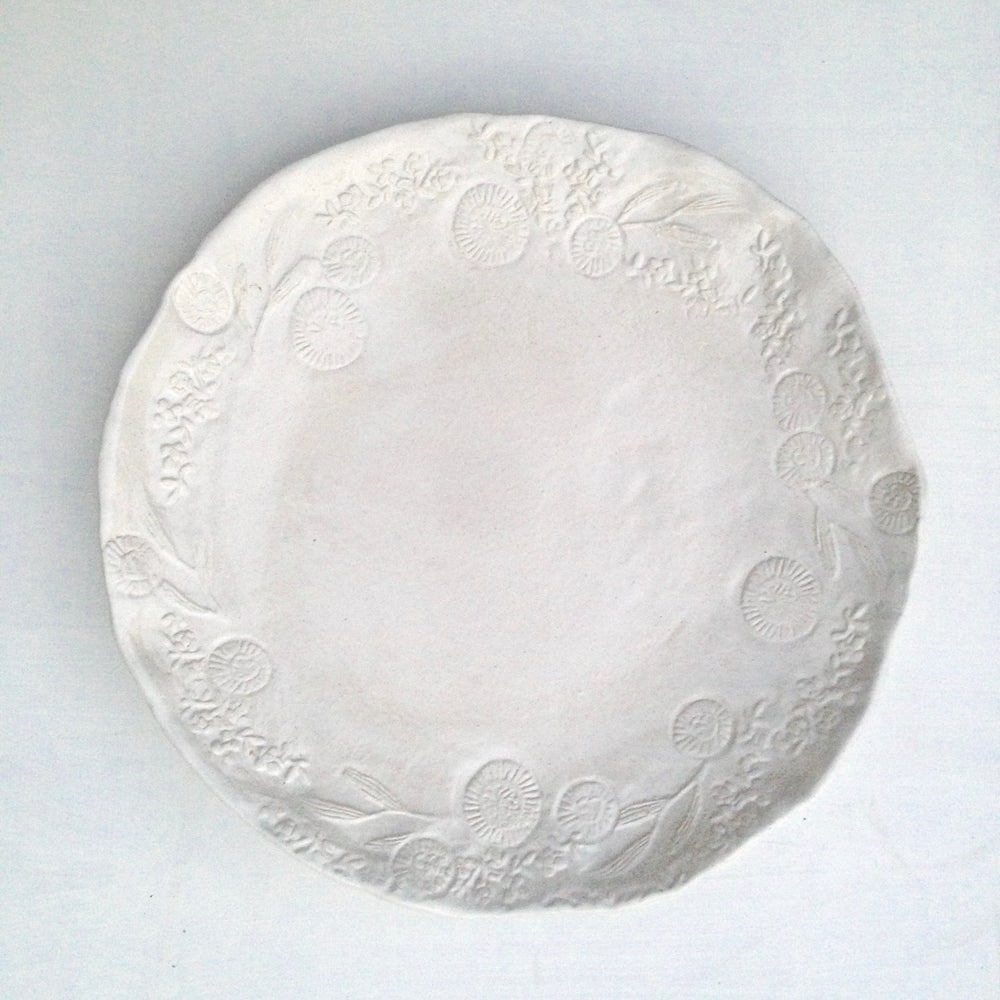 Image of Australian Lace Presentation Plate