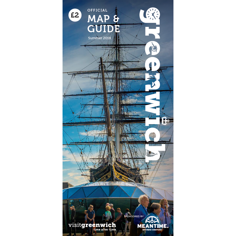 Image of Greenwich Map & Guide: July - September 2018