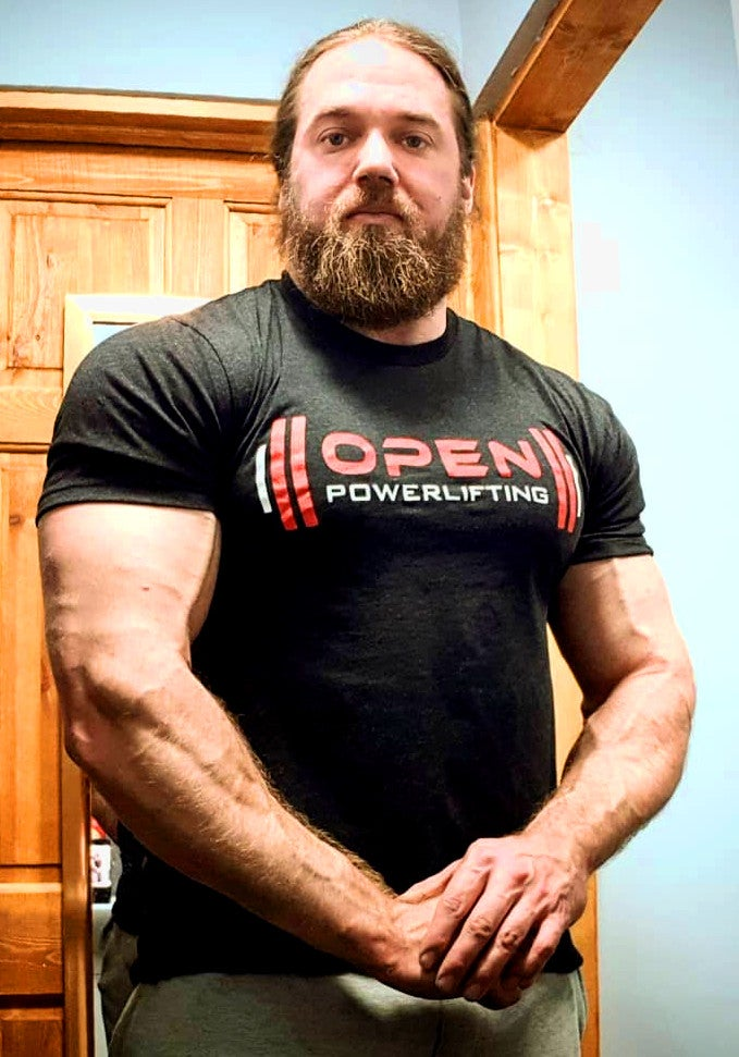 Image of Men's OpenPowerlifting T-Shirt