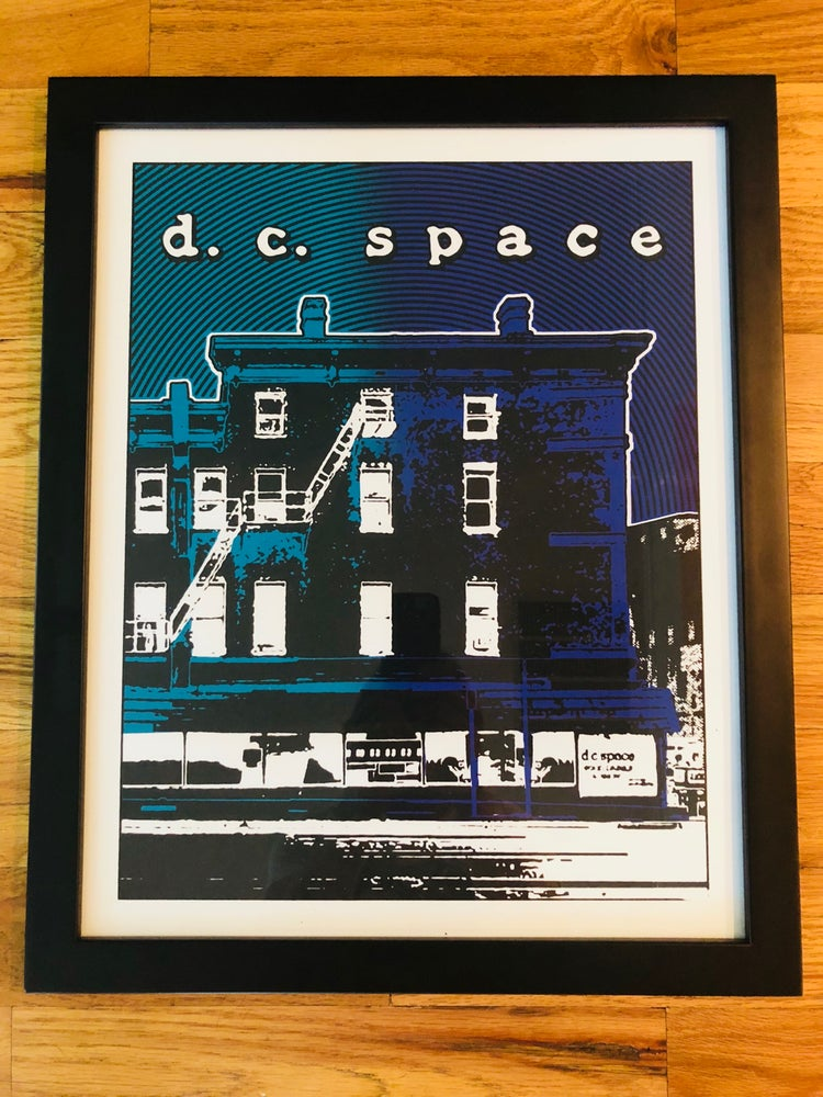 Image of DC Space Silk Screened Art Print, Version 3