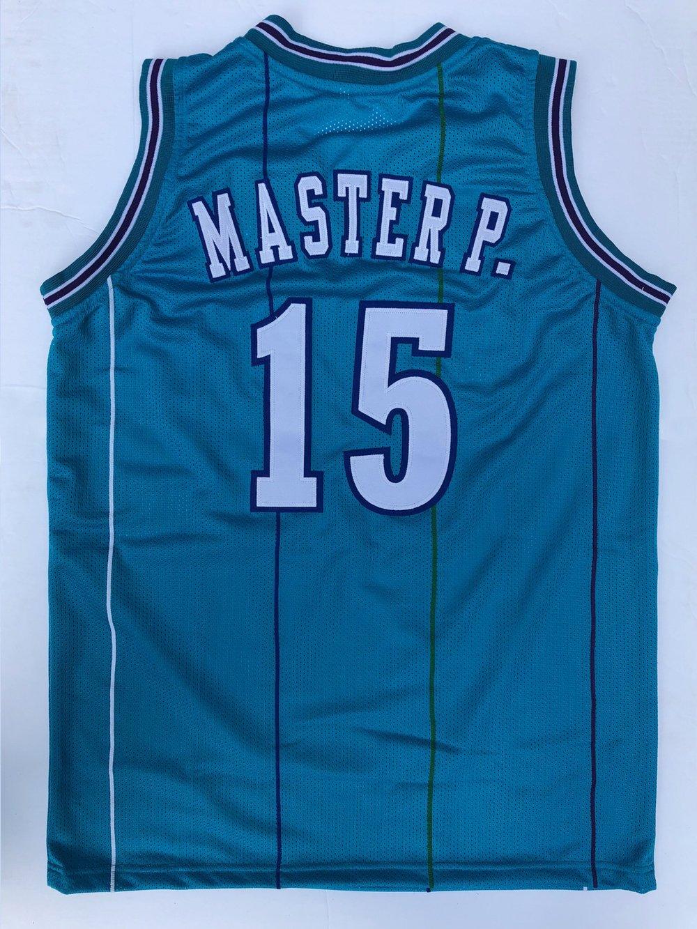 Image of Master P. Pre-Season Hornets jersey