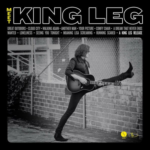 Image of 'Meet King Leg' Vinyl Record
