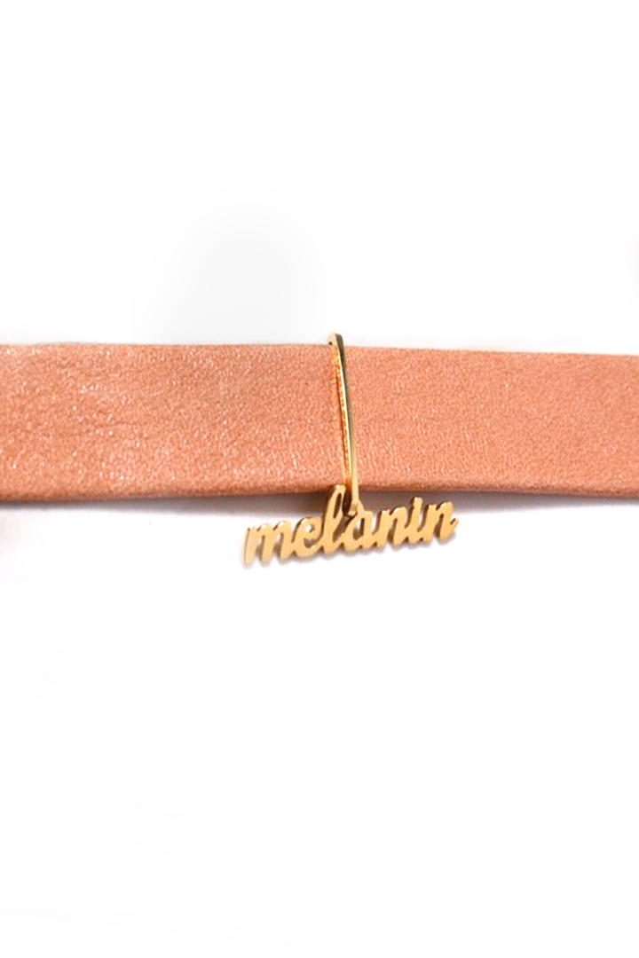 Image of Limited Editon Melanin Blush Choker