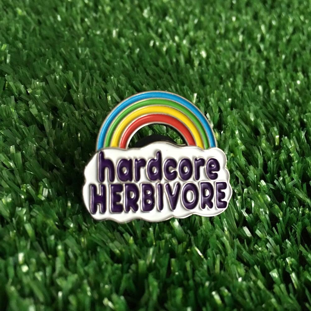 Image of Hardcore Herbivore pin
