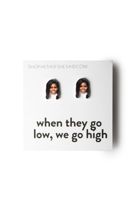 Image of Michelle Obama Earrings