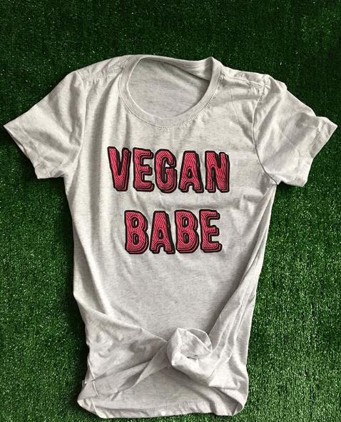 Image of VEGAN BABE T-SHIRT