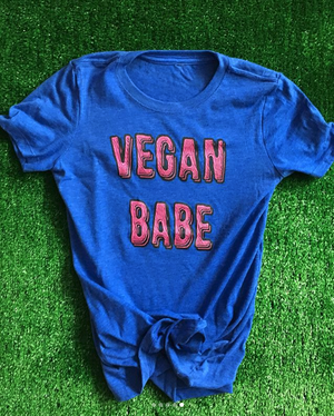 Image of VEGAN BABE T-SHIRT