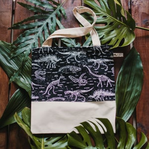 Image of NEW!! Jurassic Totebag