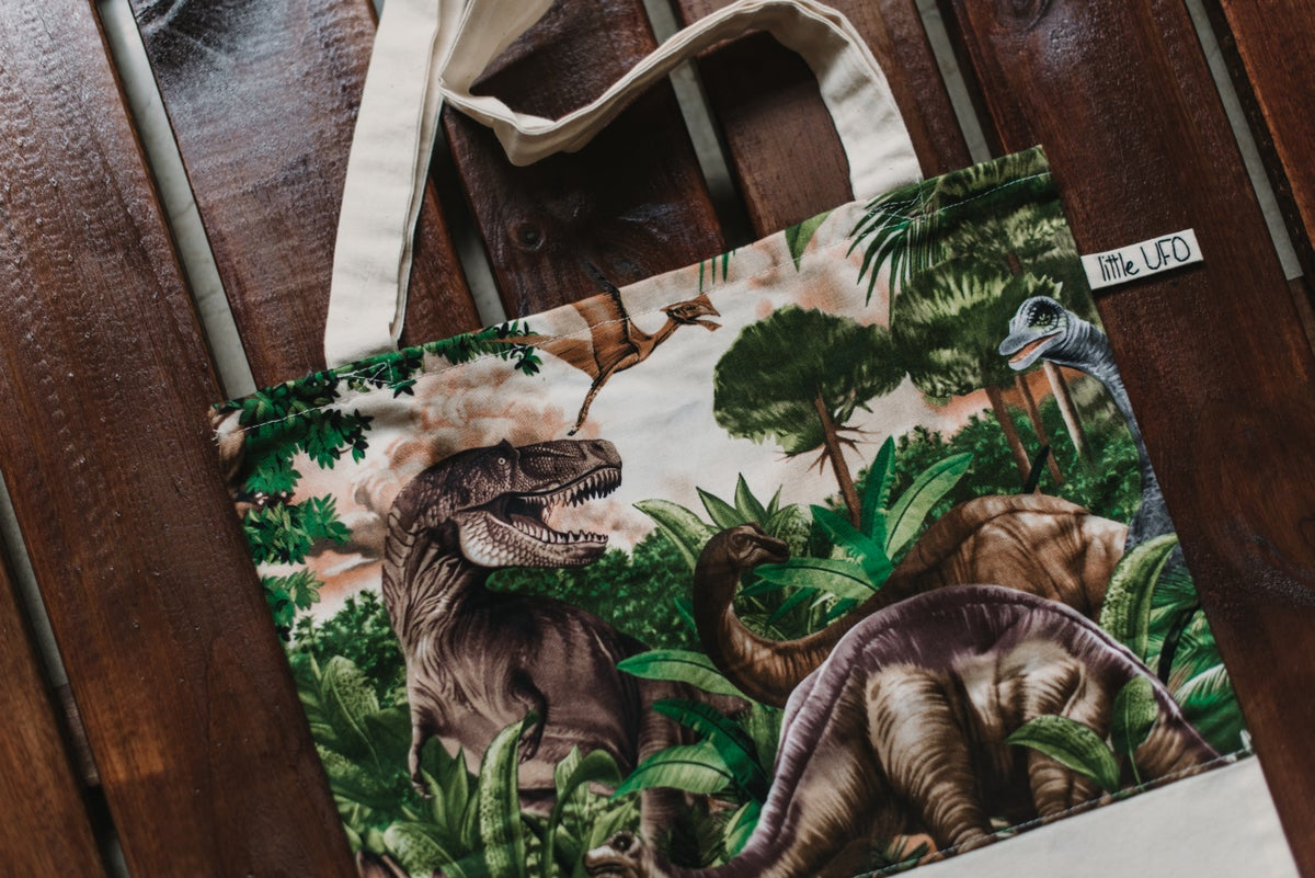 Image of  Tote Bag Dinosaurios