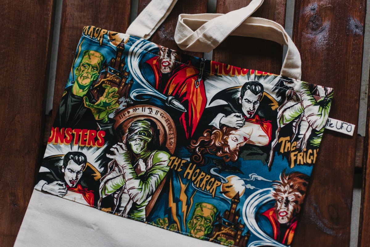 Image of Monsters Totebag