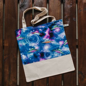 Image of UFO Totebag