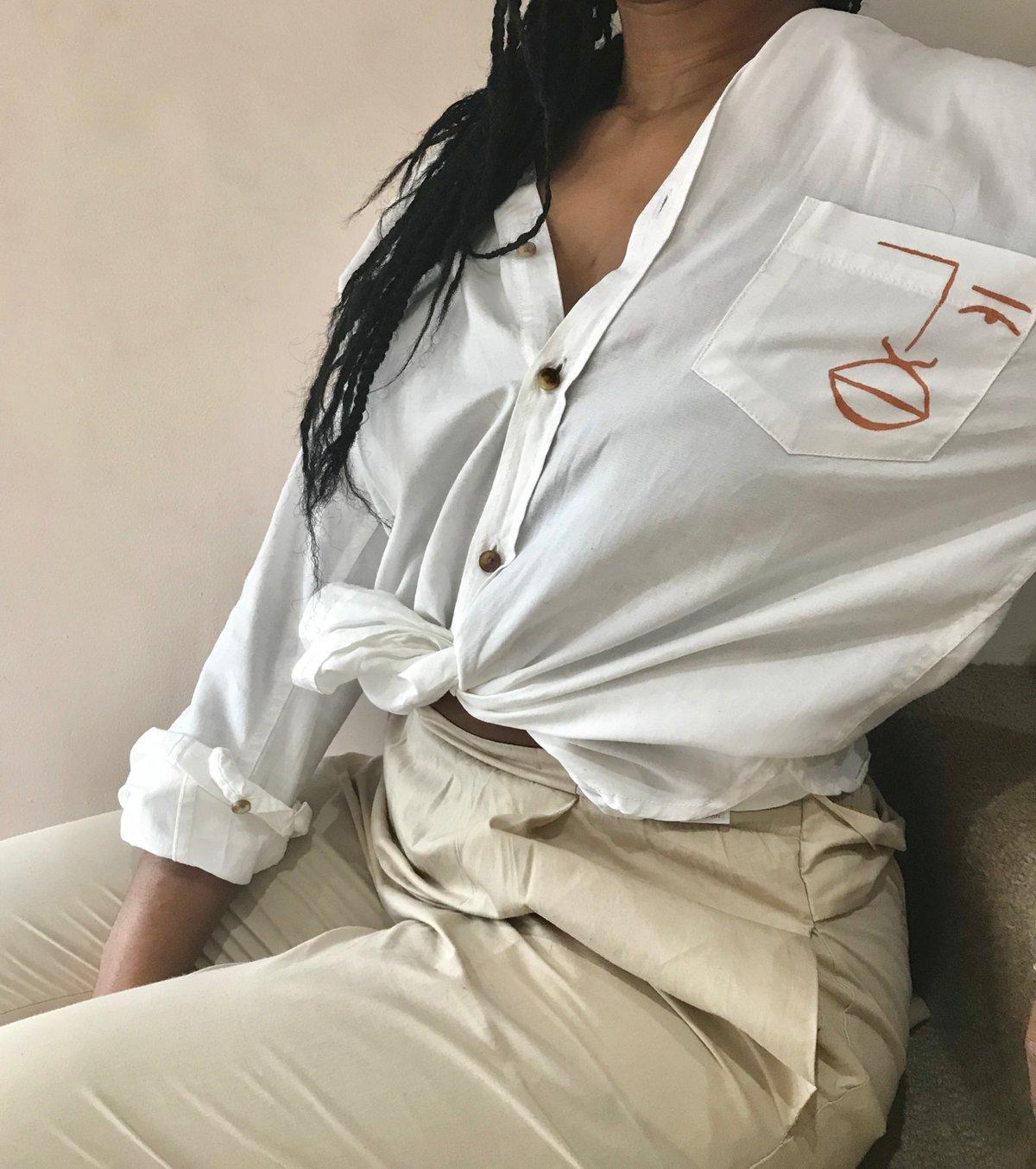 Image of terracotta shirt
