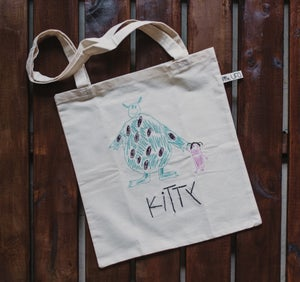 Image of Monstruos S.A. · Tote Bag Bordado
