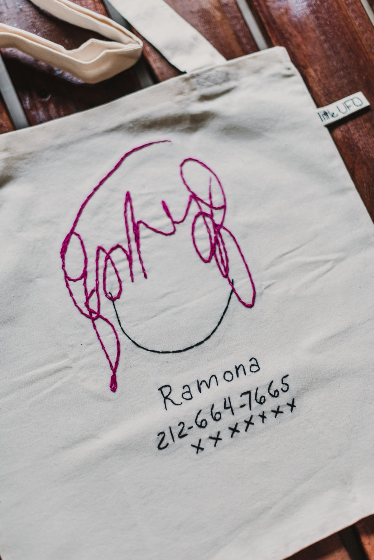 Image of Ramona Flowers · Tote Bag Bordado
