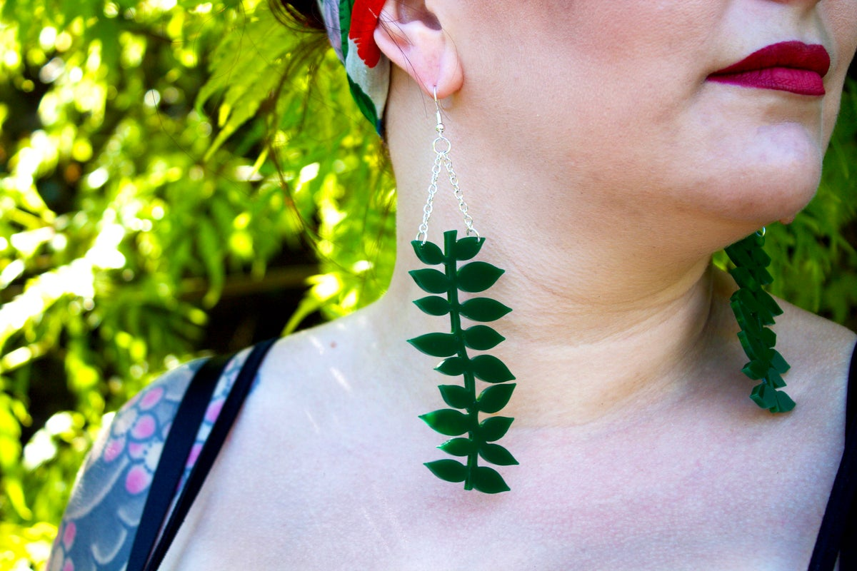 Image of Statement Vine Earrings