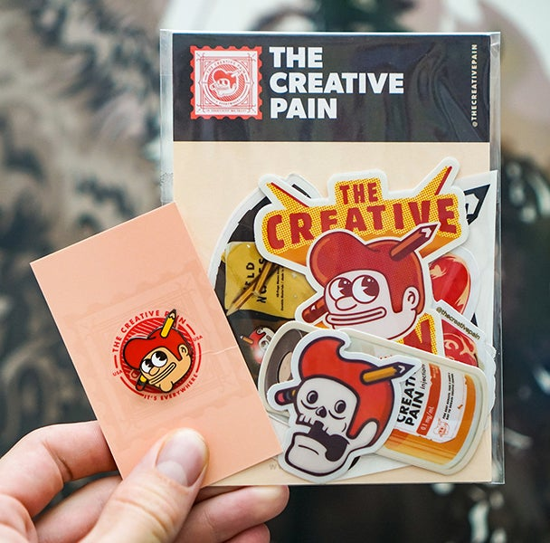 Image of Sticker pack / Pin bundle