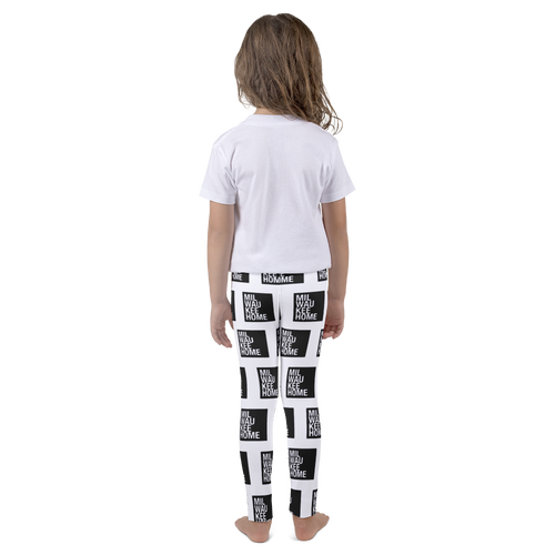 Image of Kids All-Over Print Milwaukee Home Leggings