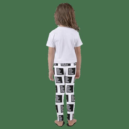 Image of Kids All-Over Print Milwaukee Home Leggings