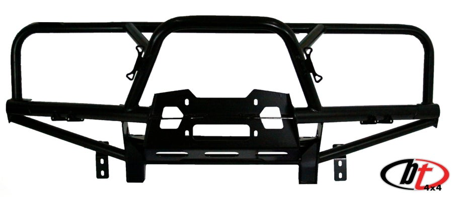 Image of BT4X4 Land cruiser 80 series Rally front bumper with full grill guard