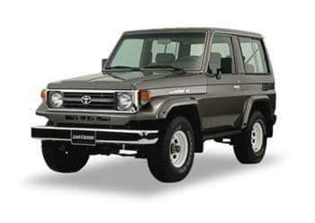 Image of BT4x4 Toyota Land cruiser 70 series roll cage