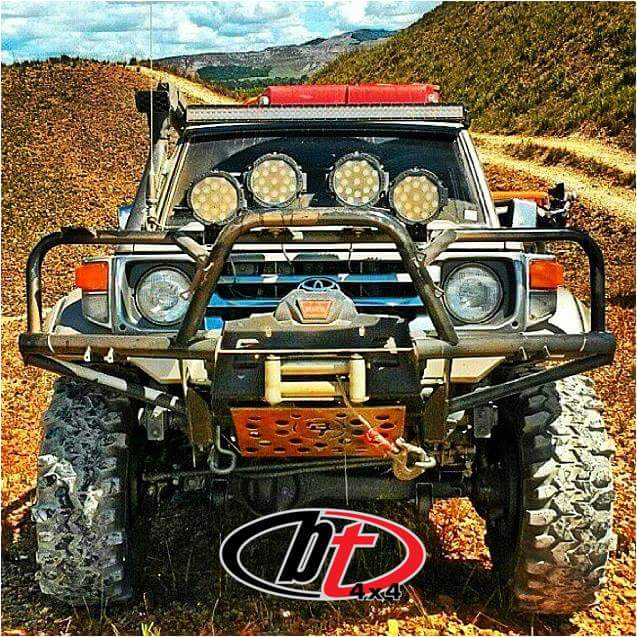 Image of BT4x4 Toyota Land Cruiser 70 series Rally front bumper high profile