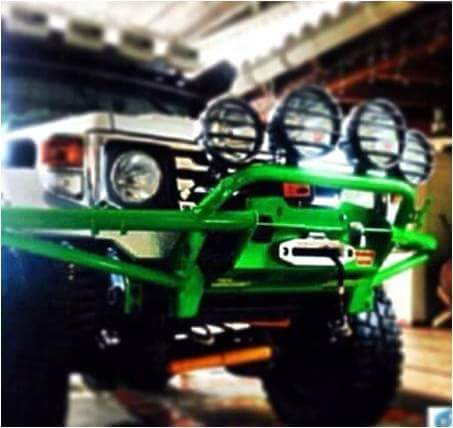 Image of BT4x4 70 series Rally front bumper low profile
