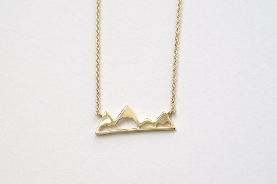 Image of Peaked Valleys Necklace