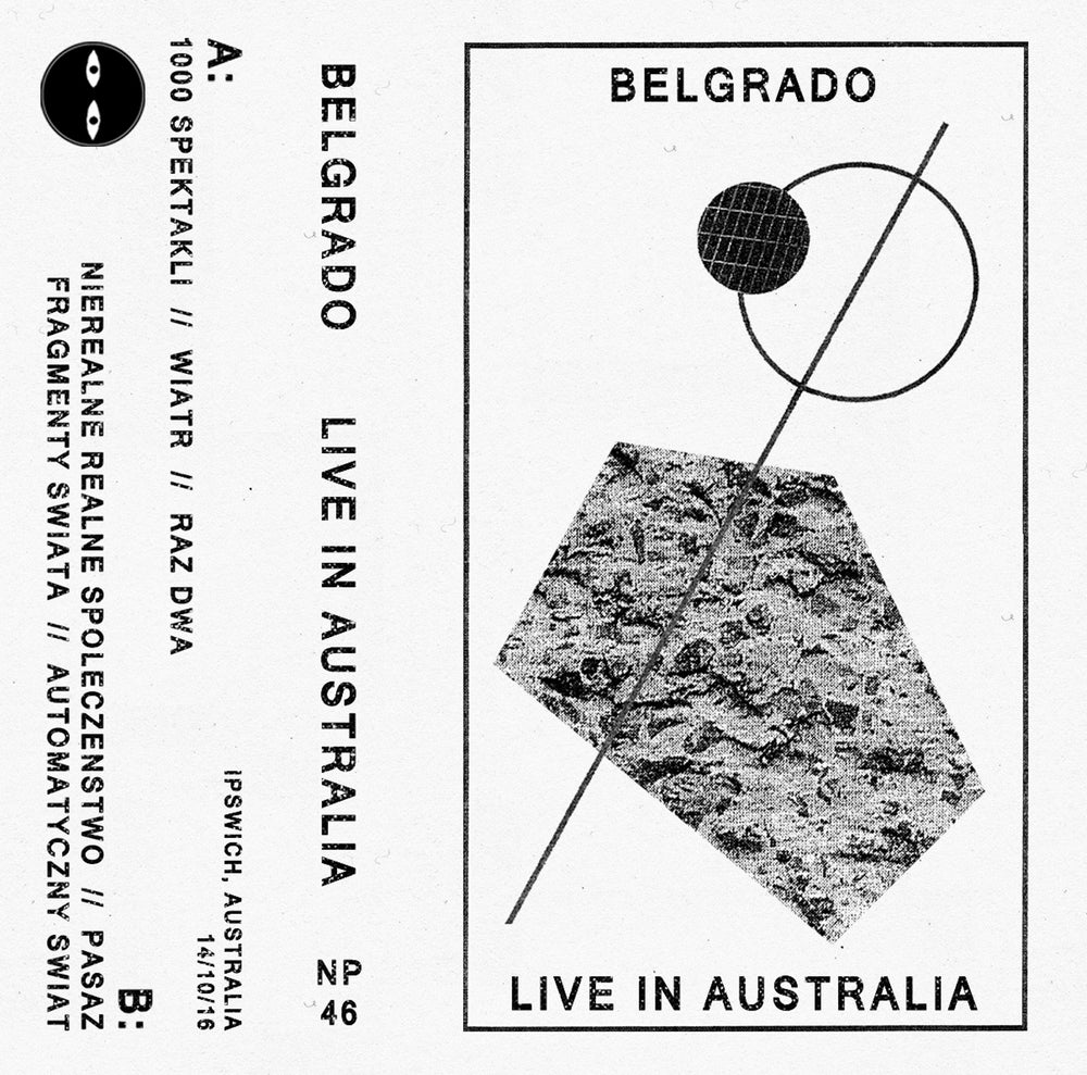 Image of BELGRADO - 'Live in Australia' CS